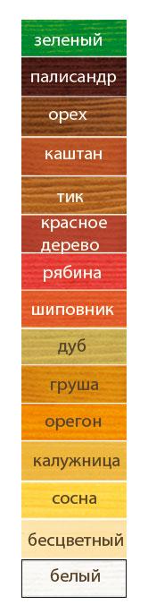 Акватекс пропитка цвета